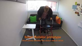 VTT's Smart Rollator as Means to Motivate the Elderly to Exercise more