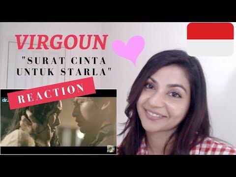 Virgoun - Surat Cinta Untuk Starla (Official Music Video)-- Reaction Video!