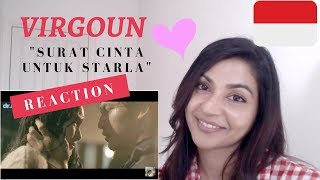 Virgoun - Surat Cinta Untuk Starla (Official Music Video)-- Reaction Video!