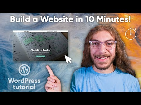 How to Build a WordPress Website in 10 Minutes! (2019) | Full Tutorial thumbnail