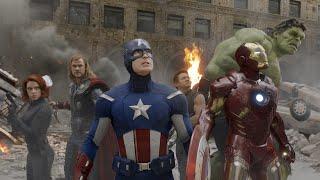 The Avengers (2012) Movie Clip Avengers vs Loki Final Battle HD