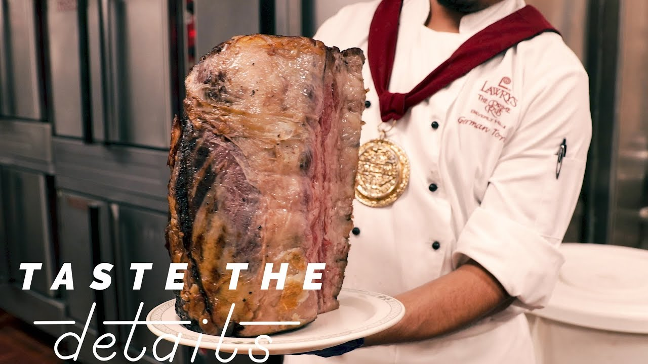Lawry S The Iconic Prime Rib Taste The Details