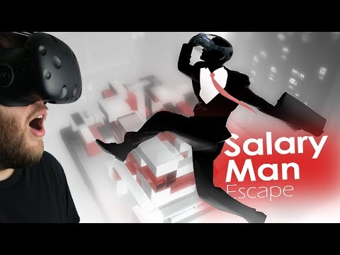 Salary Man Escape - The Tough Life of a Salary Man - Physics-focused Puzzler - Salary Man Escape VR