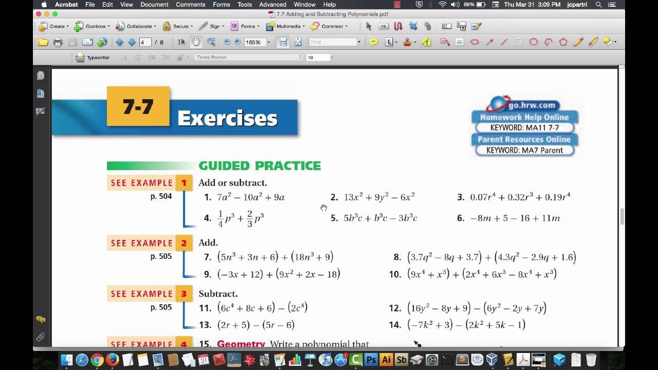 Hrw homework help algebra 2