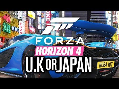 FORZA HORIZON 4: UK Or Japan?