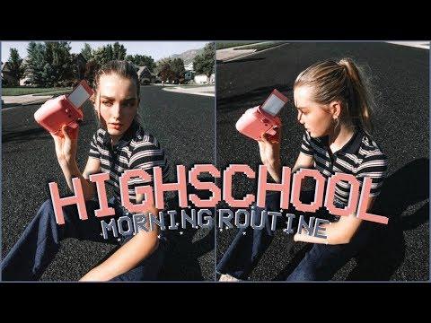 My High School Morning Routine! 2018 thumbnail
