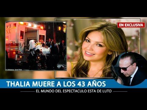 CONFIRMADO: Fallece la cantante y actriz Thalía