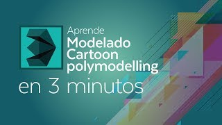 Tutorial 3DMax: Modelado Cartoon polymodelling en 3 min