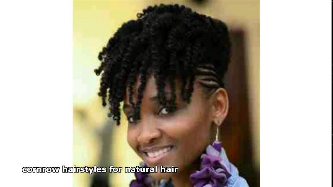 Cornrow Hairstyles For Natural Hair YouTube
