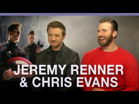 Chris Evans & Jeremy Renner on Captain America future and Spider-Man joining the MCU
