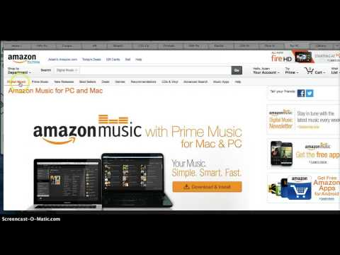 How to Play Amazon Music On Your Computer For Free