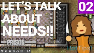 Prison Architect Season 2 - Ep 02 - All About The Staff