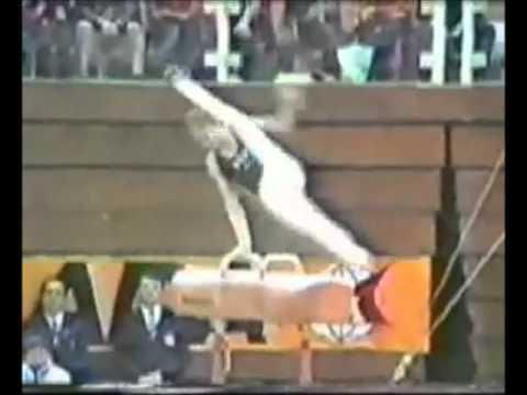Pommel Horse Flair on Pommels Gymnastics Video