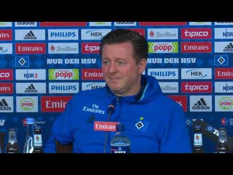 HSV-Trainer Christian Titz spricht über sein neues Führungstrio