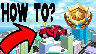 How to get a flying car in Roblox Mad City!