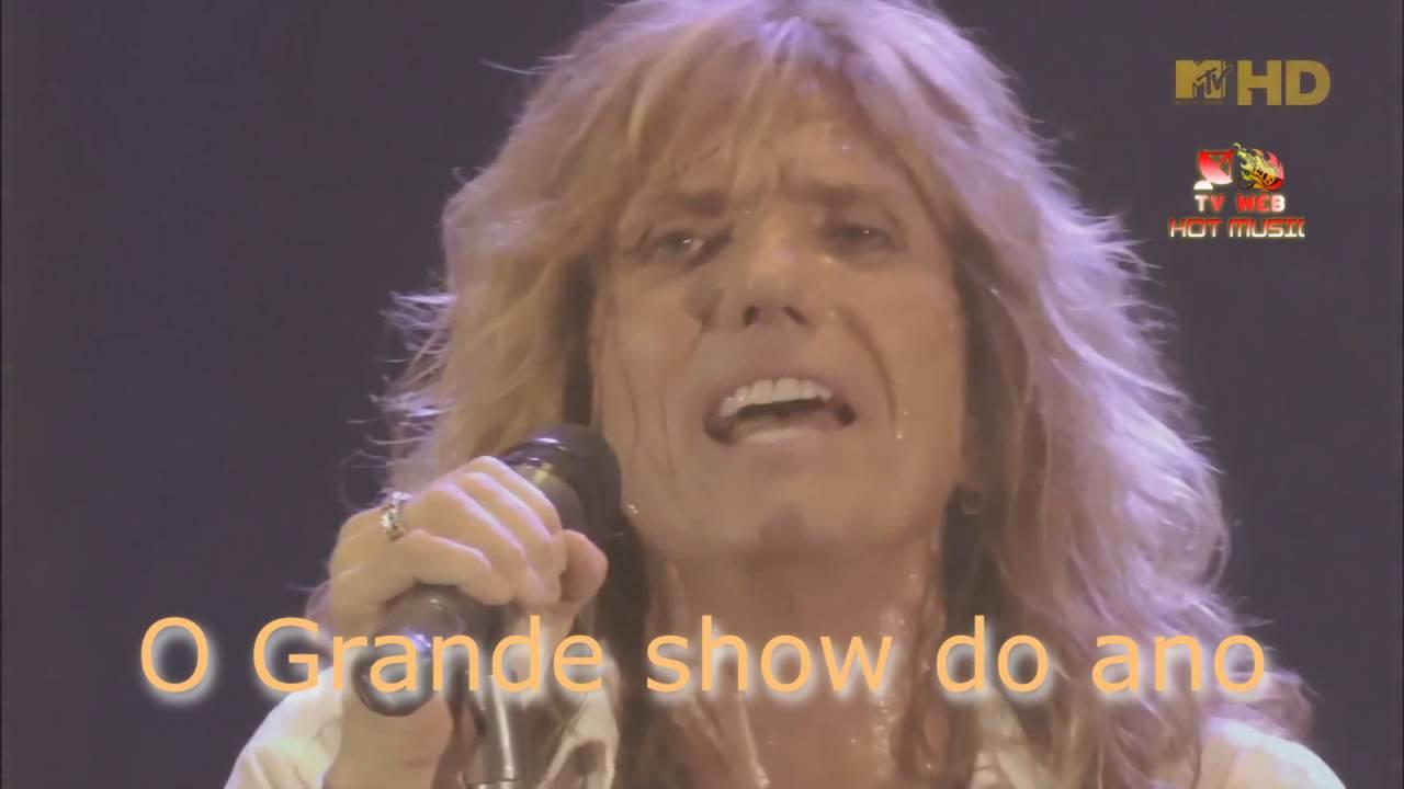 Whitesnake Lead Singer Chamada Show Whitesnake 2016 Setembro Youtube