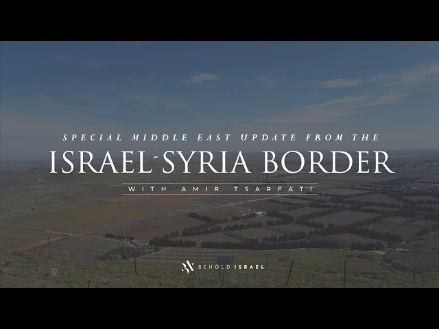 Amir Tsarfati: Middle East Update, November 11, 2019