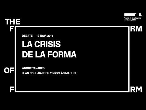 La Crisis de la Forma debate in Madrid - 4th edition of Lisbon Architecture Triennale