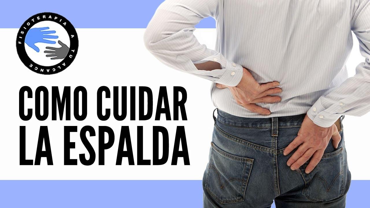 7 ejercicios para cuidar la espalda