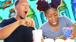 DRINK ROULETTE CHALLENGE😖😪   **Josh Throws Up**