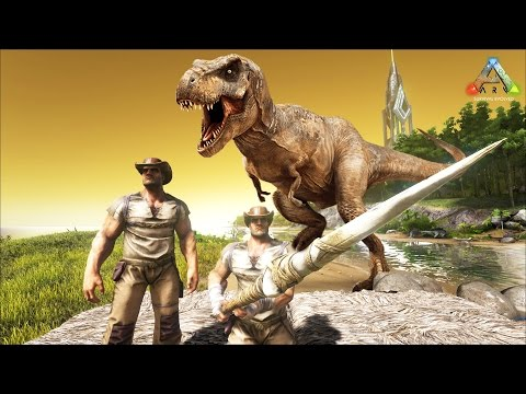 Hike Plays: ARK Survival - Knocking Out Dinos!! - THE DINO HUNTER! - ARK Evolved Gameplay
