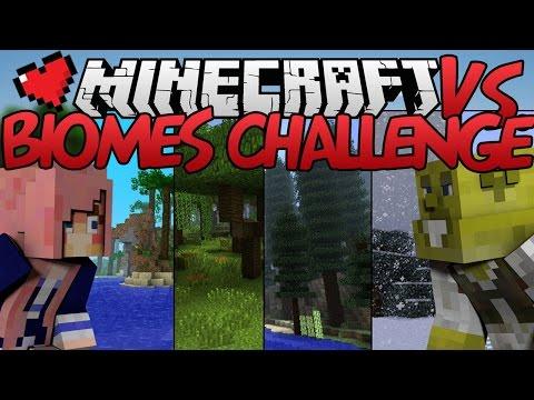 Biomes Challenge | Minecraft VS. Ep 17
