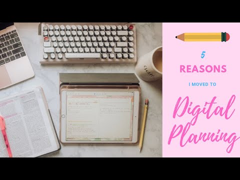 Why I USE A DIGITAL PLANNER | DIGITAL PLAN WITH ME | IPAD PLANNER | DIGITAL PLANNING 101