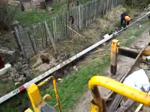 Установка столбов освещения в Московской области