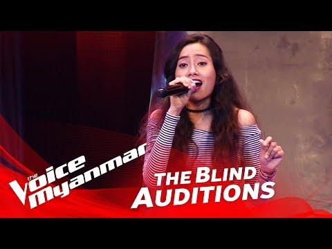 "The Voice Myanmar 2018 Blind Audition - Sandy: ""Mama Do"""