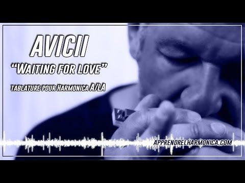Avicii - Waiting For Love - Harmonica A - www.apprendrelharmonica.com