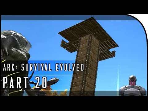 """ARK: Survival Evolved Gameplay Part 20 - """"THE PENTHOUSE BASE!"""" (SEASON 3)"""