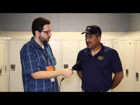 Miami High Coach Ivan Rosales - Dolphins HS Media Day