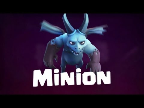 Clash of Clans Minion Troop Gameplay Teaser Trailer!!!!
