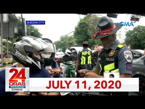 24 Oras Weekend Express: July 11, 2020 [HD]