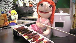 Making Bacon Wrapped Pretzels