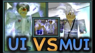 MASTERED ULTRA INSTINCT VS ULTRA INSTINCT!!   SHOW CASE   Roblox- Dragon Ball Z
