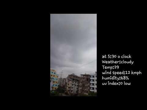 Dhaka weather at 5:30 O clock