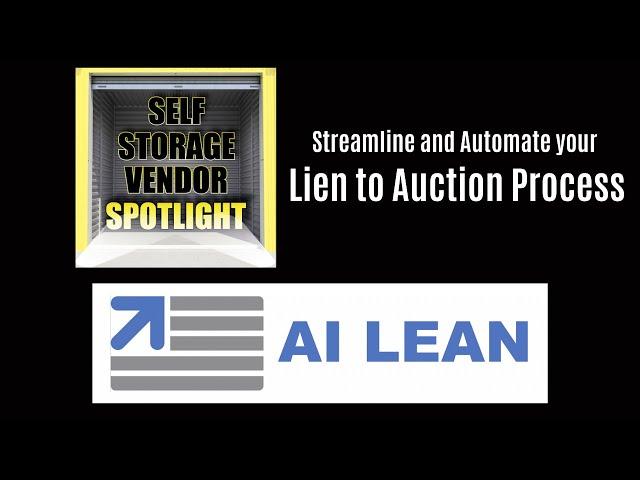 Self Storage Vendor Spotlight: AI Lean