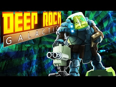 Deep Rock Galactic Alpha Gameplay - Multiplayer Mining with