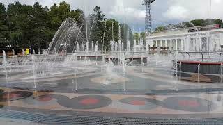 Скачать Пешеходные фонтаны на набережной Хабаровск