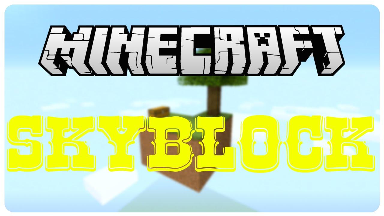 Minecraft PS Skyblock German Part HD YouTube - Minecraft zusammen spielen ps3