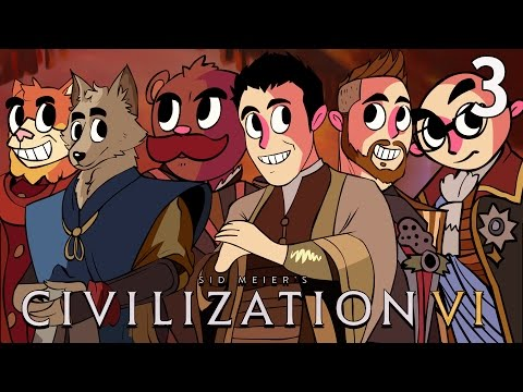 Civilization VI - NLSS Crew - Episode 3 [Peace in Our Time]