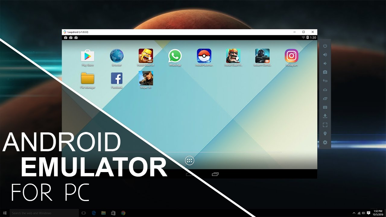 top android emulators for pc 2017