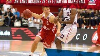 12. Spieltag: Artland Dragons vs FC Bayern Basketball 79:92
