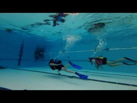 Steve Baker MP - HWSAC Try Dive