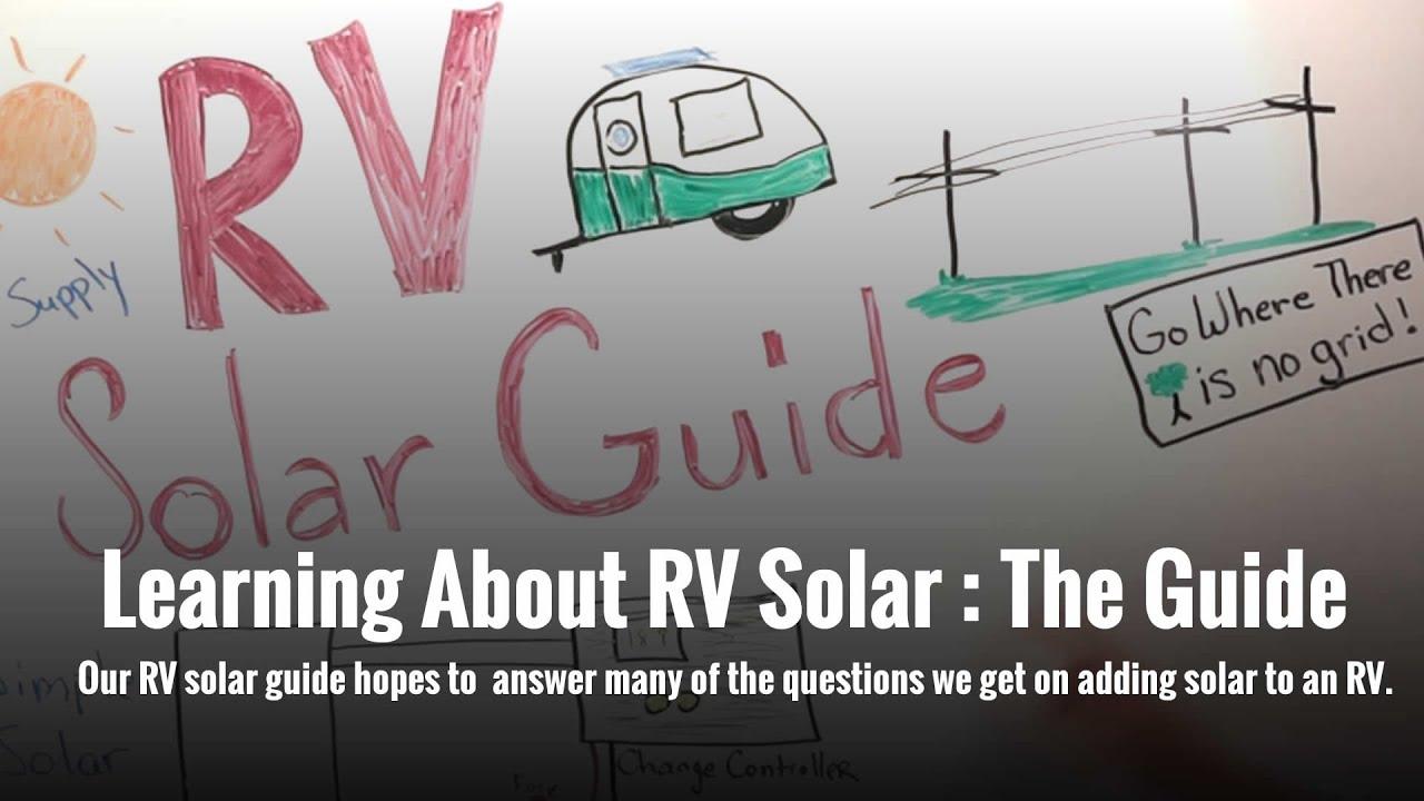 RV Solar Guide