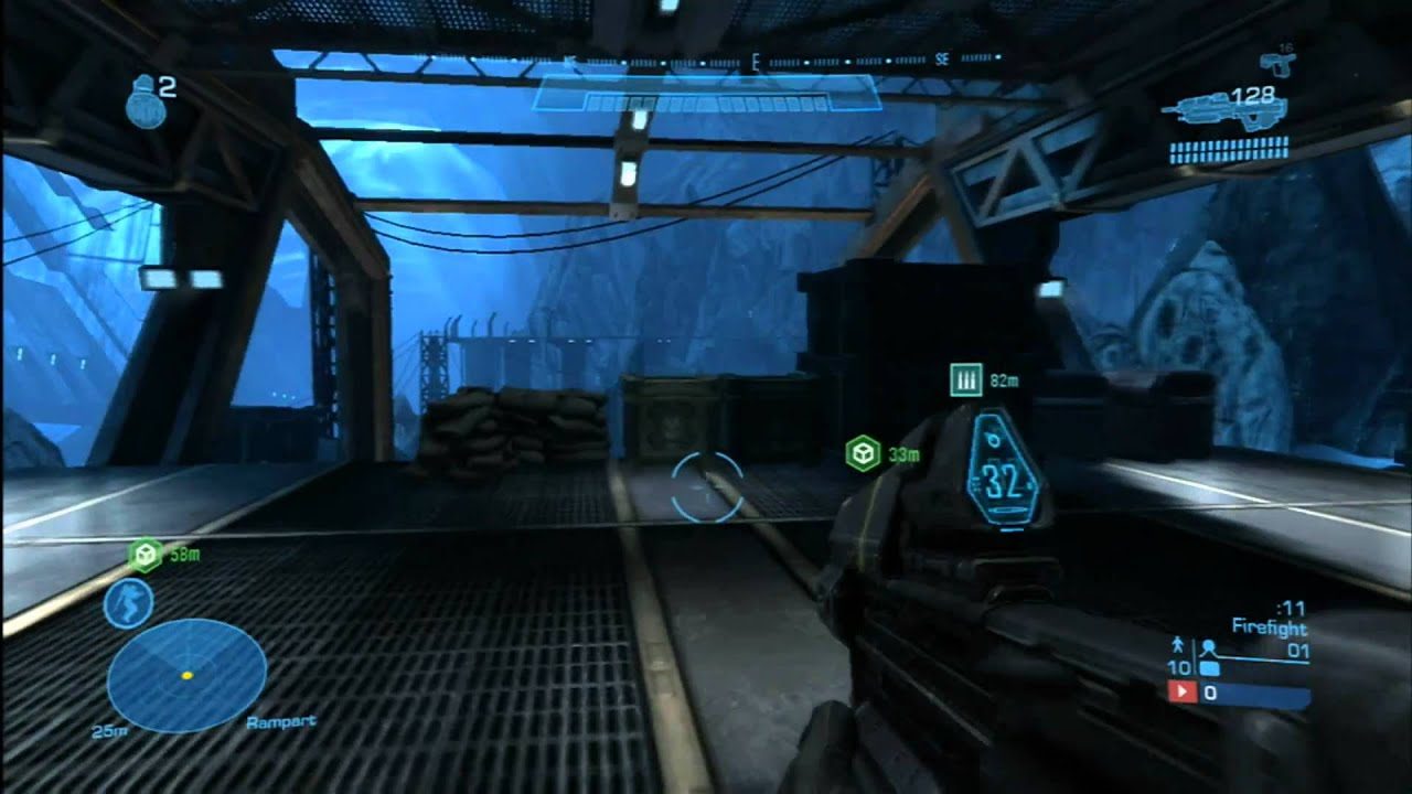 Classic Game Room Halo Reach Firefight And Multiplayer