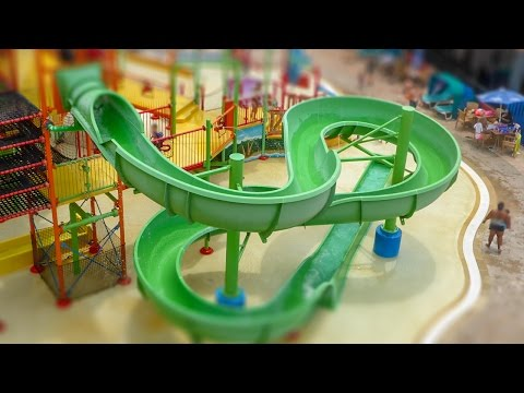 CoCo Key Water Resort - Green Parrot's Perch Slide | Water Play House Onride POV