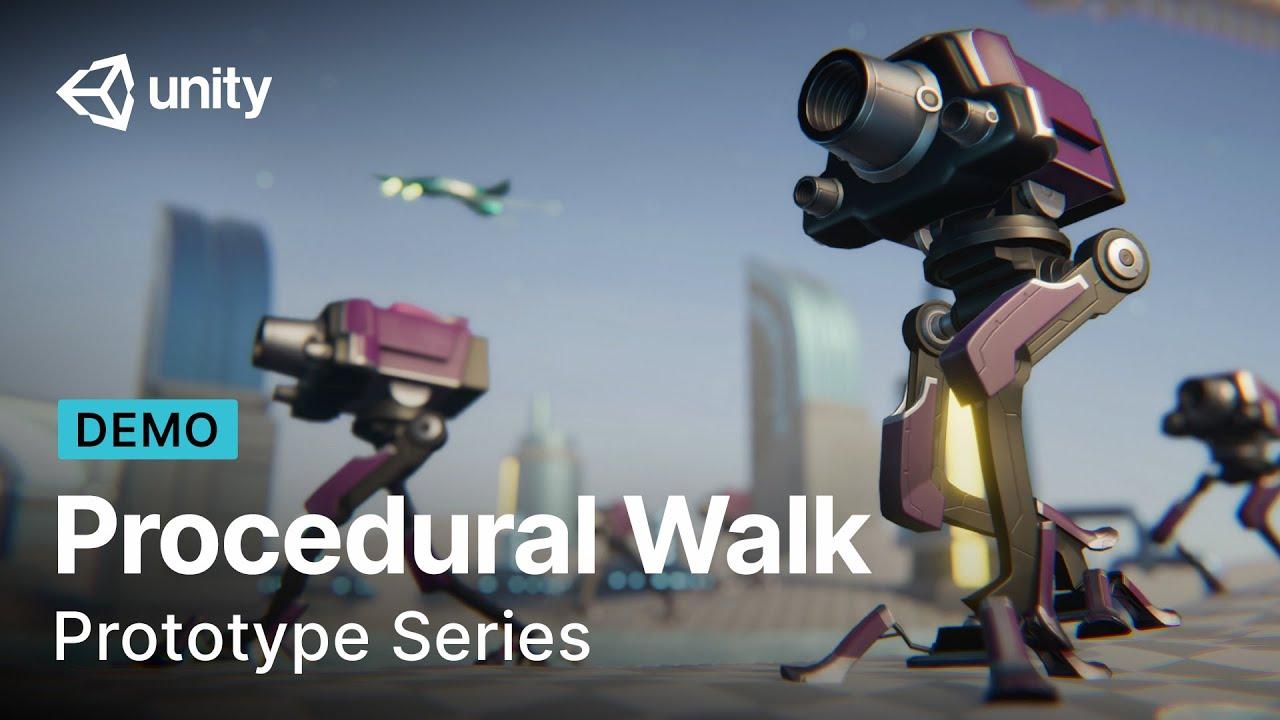 Creating procedural walk movement | Prototype Series