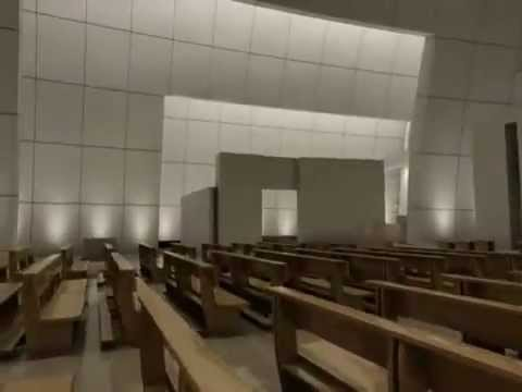 3ds Max Jubilee Church Animation Richard Meier Architect